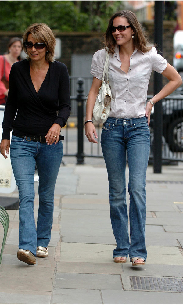 Kate Middleton goes baby shopping with her mother Carole!