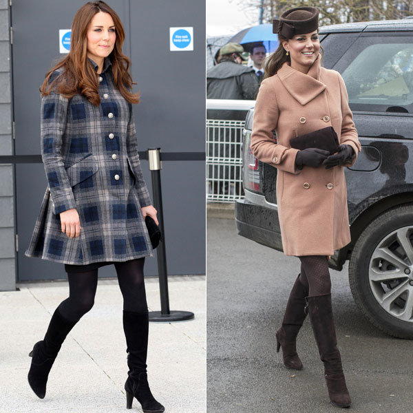 Kate Middleton loves her Aquatalia boots for Russell & Bromley