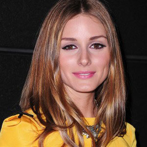 Olivia Palermo dyes her hair light brown