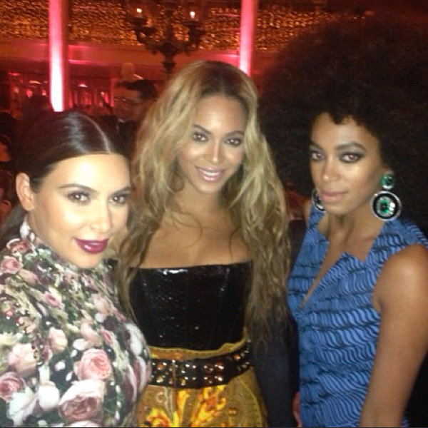 Beyonce and Kim Kardashian get close in new Met Ball pic