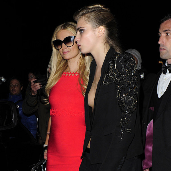 Cara Delevingne and Paris Hilton hit the town at Cannes 2013