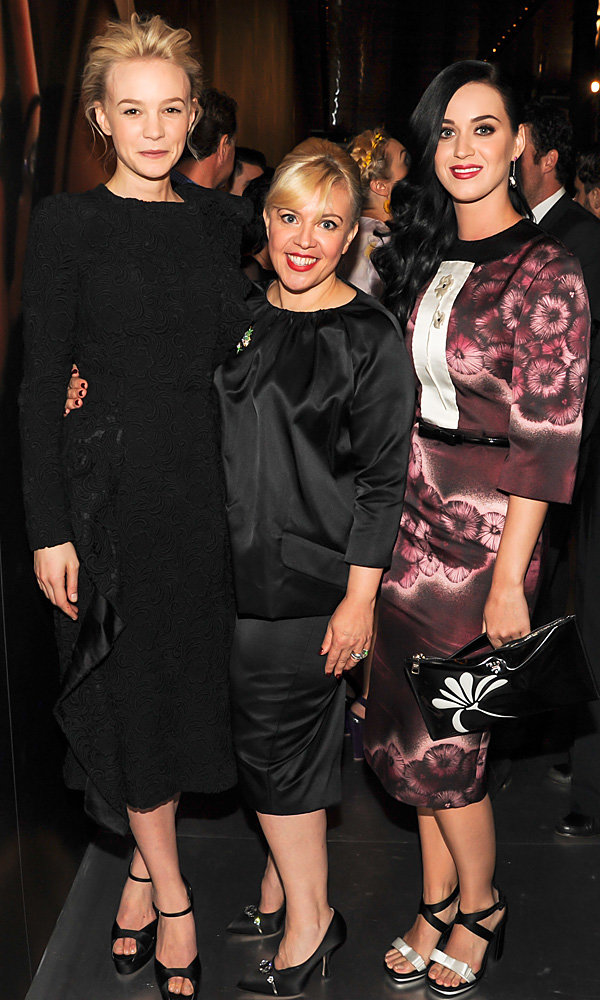 Katy Perry, Carey Mulligan and Alexa Chung party at Gatsby costume exhibition