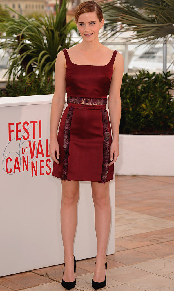 Emma Watson continues the Brit takeover at Cannes 2013