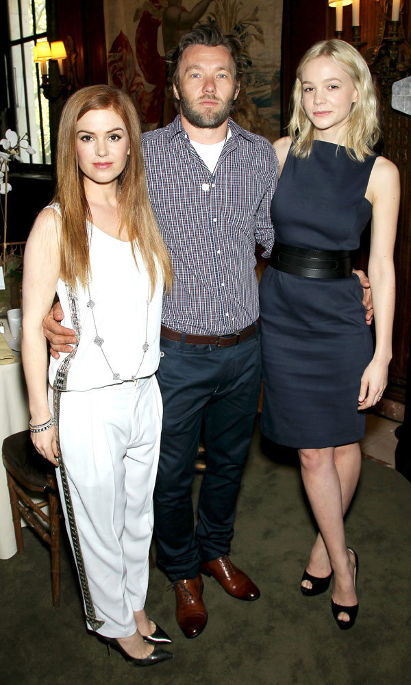 Carey Mulligan and Isla Fisher dress to impress at Great Gatsby lunch