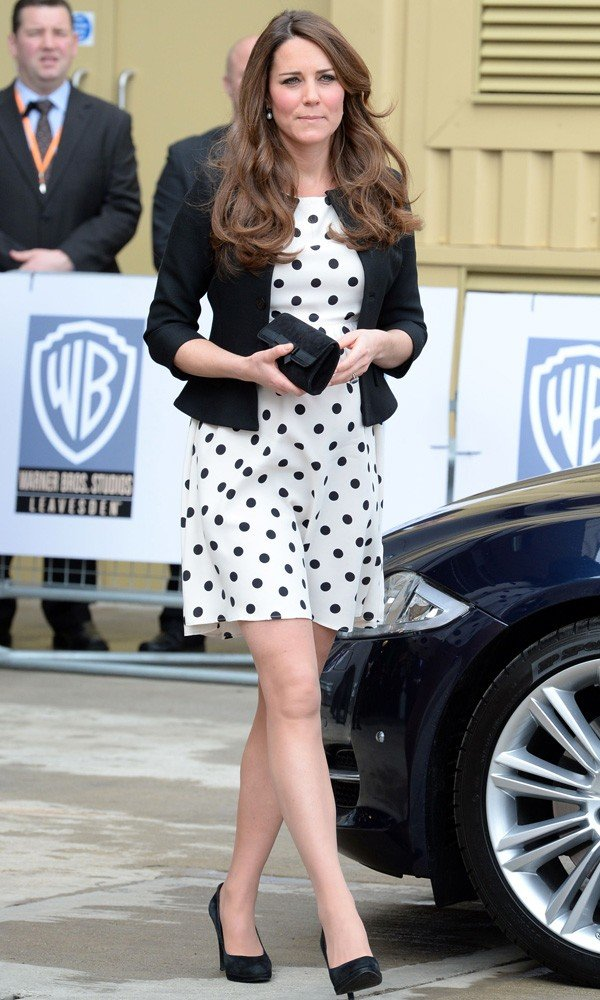 Kate Middleton recycles Topshop dress for friend's wedding!