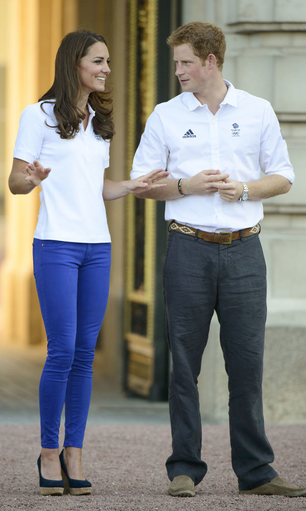 Prince Harry takes thrifty fashion tips from Kate Middleton