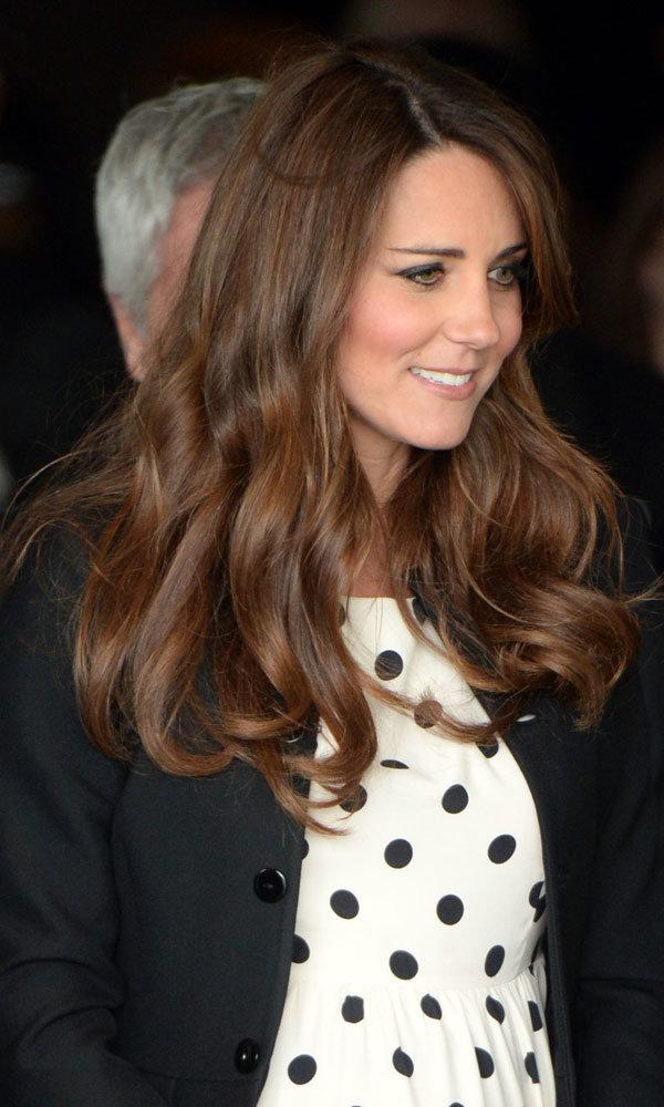 Kate Middleton tops Cheryl Cole in celebrity hair poll