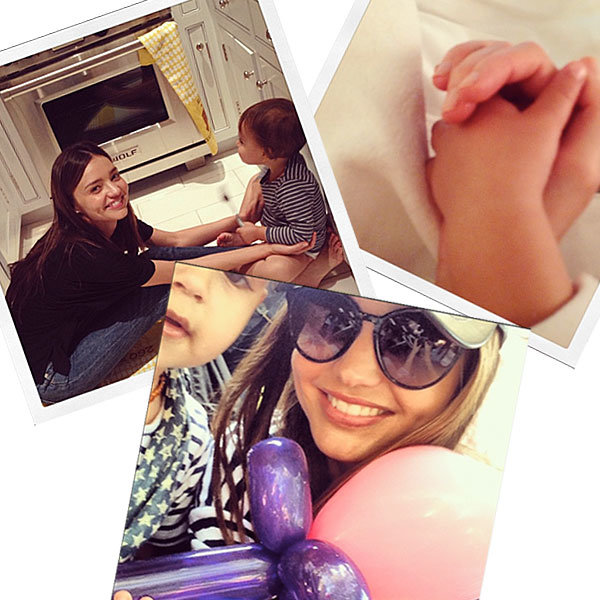 Miranda Kerr shares adorable Mother's Day pictures