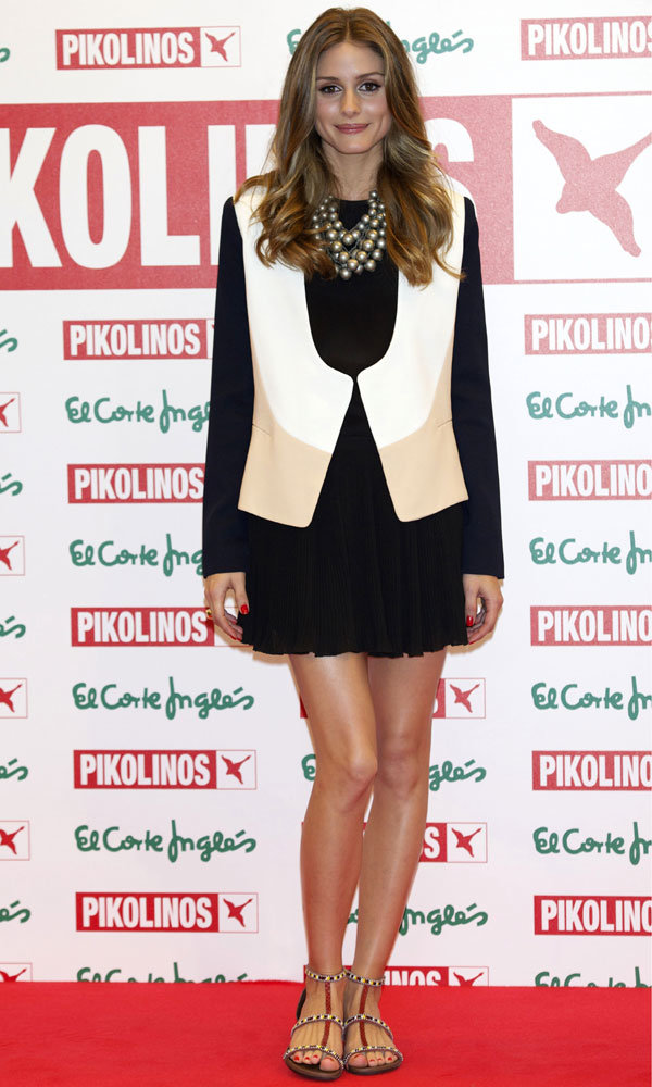 Olivia Palermo looks effortlessly glam at the Pikolinos collection launch