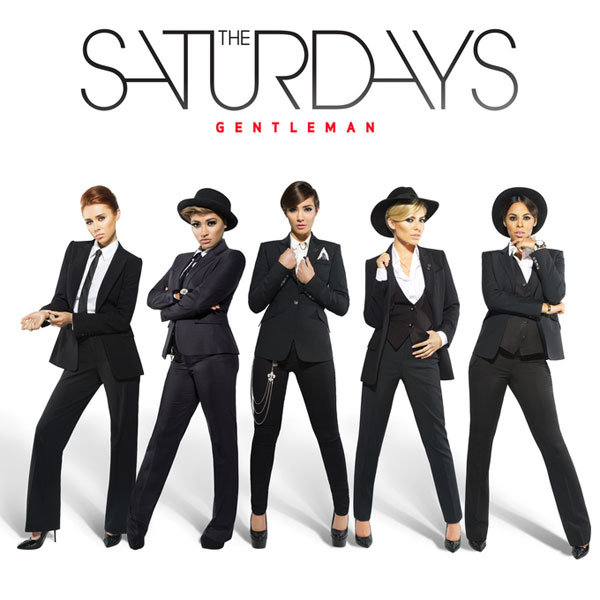 The Saturdays work the androgynous look for new single Gentleman