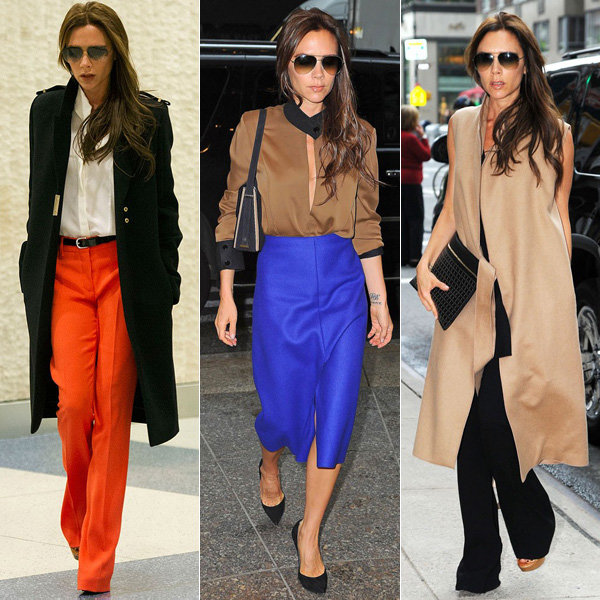 Victoria Beckham proves she's fashion queen with style hat trick