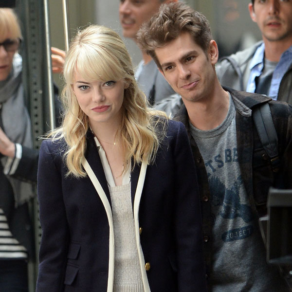 Emma Stone and Andrew Garfield get intimate!