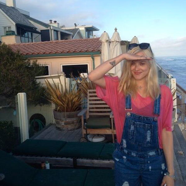 Fearne Cotton takes baby son Rex on a rock and roll trip to the seaside