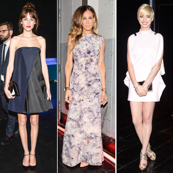 Alexa Chung, Sarah Jessica Parker and Anne Hathaway wow at Tate Americas event