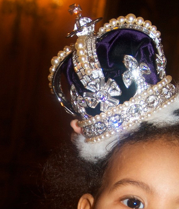Beyonce proves Blue Ivy is a queen in waiting