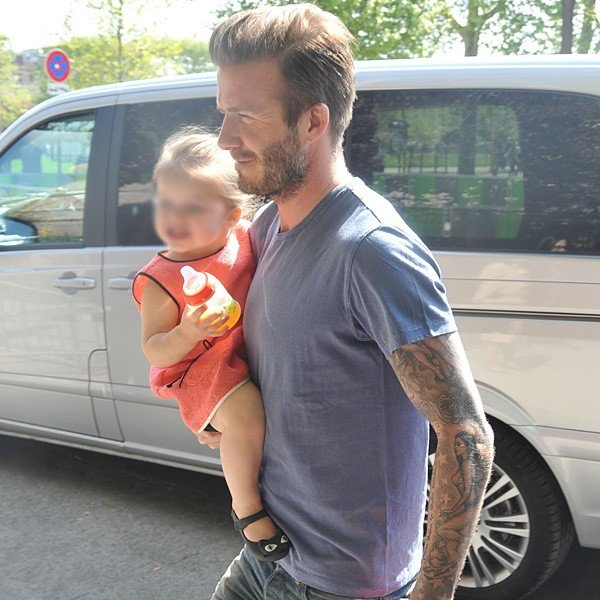 David Beckham reveals he'll treat a teenage Harper like Rapunzel!