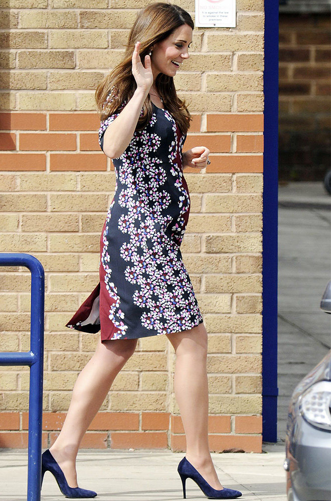 Kate Middleton spotted shopping for Royal baby's nursery decor
