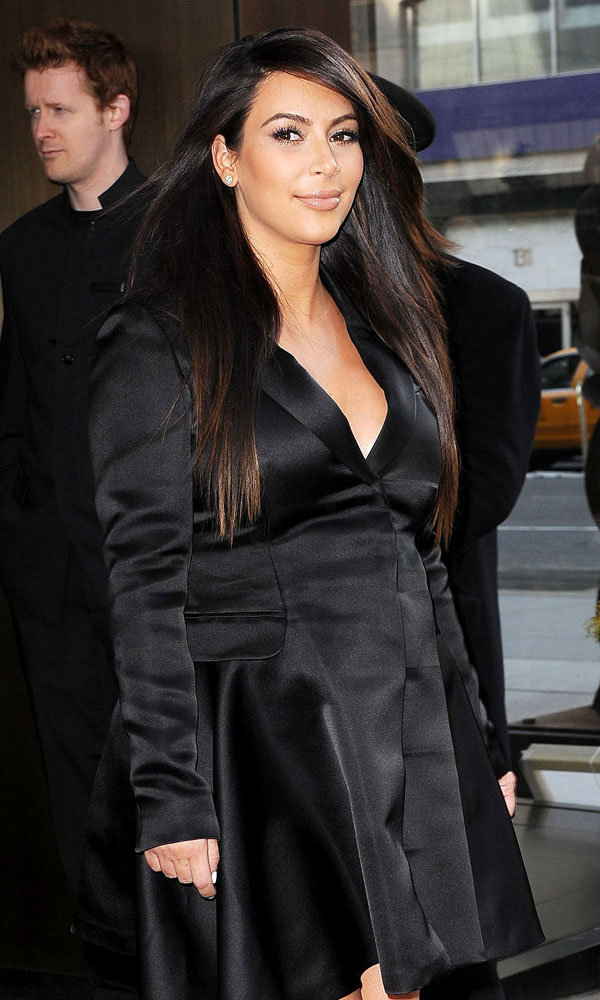Kim Kardashian speaks out for the first time since giving birth