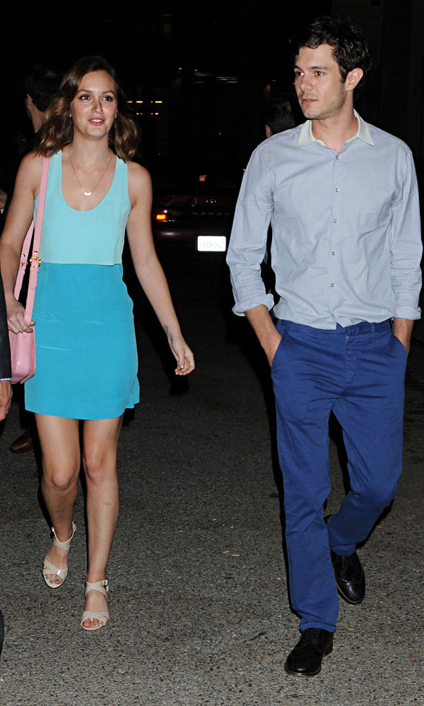 Leighton Meester and Adam Brody look loved up in LA