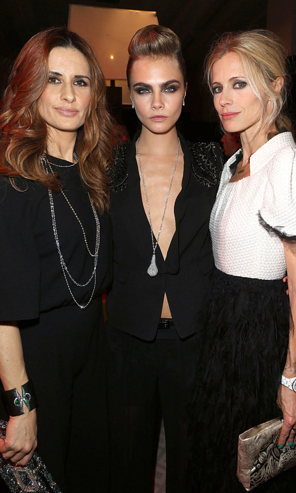 """Laura Bailey talks summer style and Cara Delevingne's """"fearless"""" party antics"""