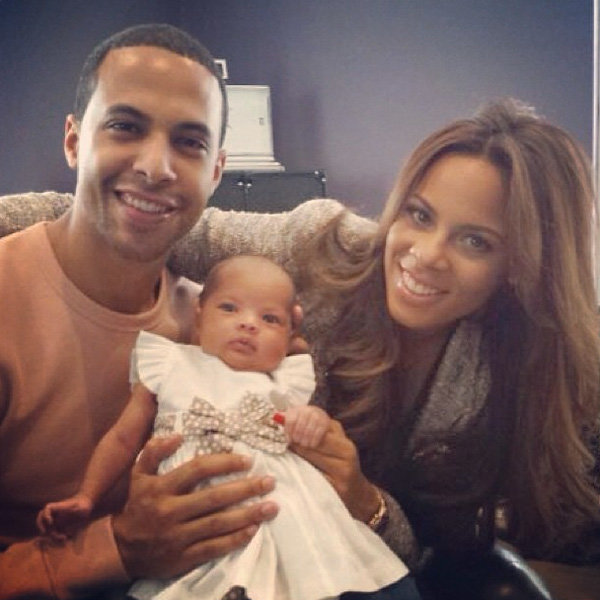 Rochelle Wiseman and Marvin Humes share adorable family portrait