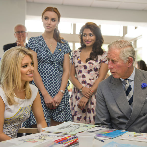 Mollie King and Prince Charles team up for charity