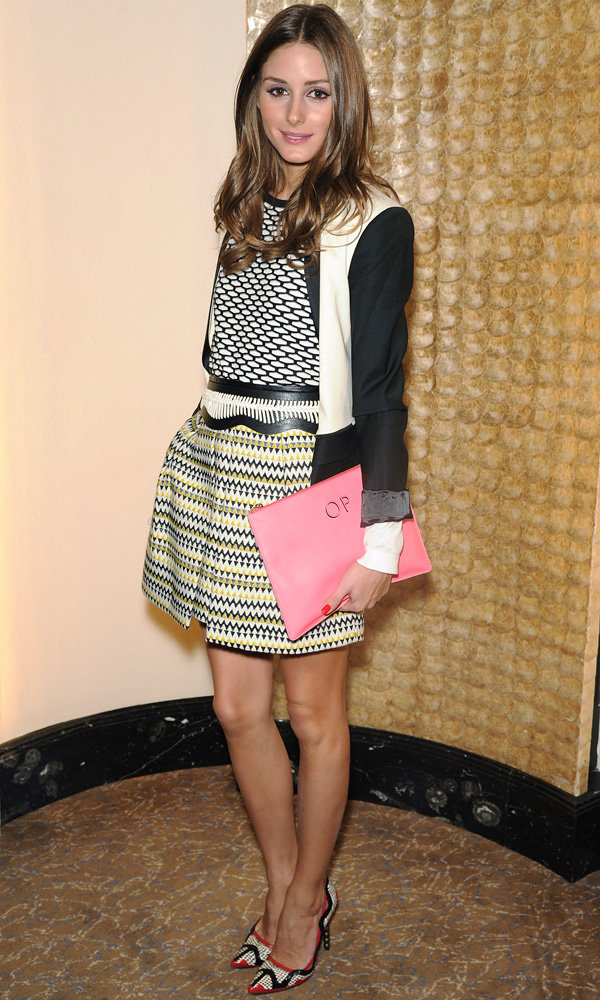 Olivia Palermo crowned queen of accessories