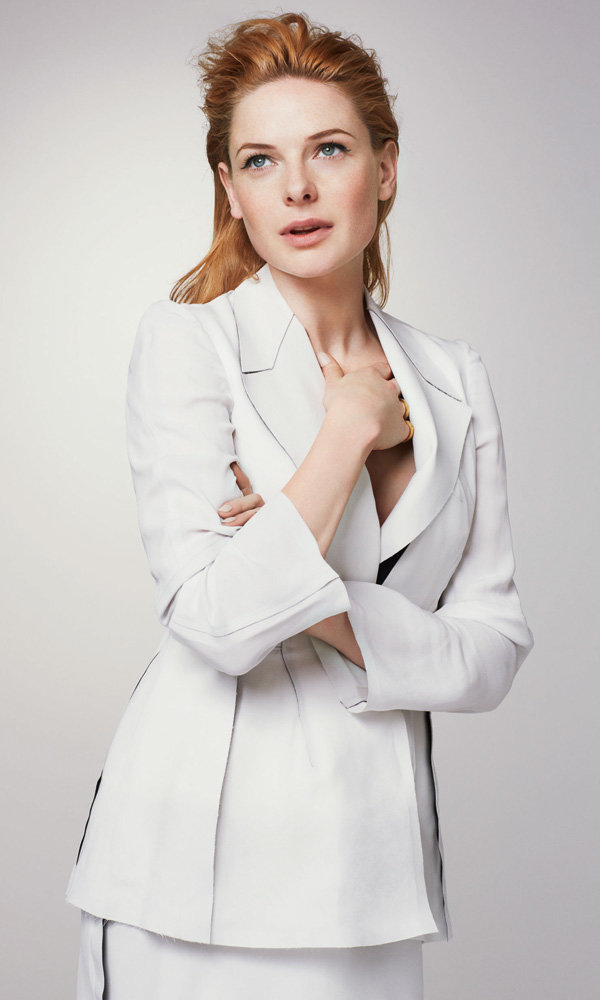The White Queen star Rebecca Ferguson talks exclusively to InStyle!