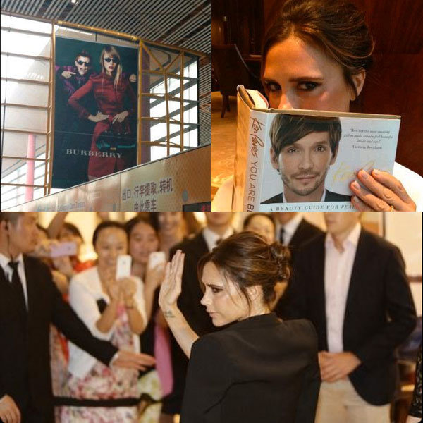 Victoria Beckham takes China by storm!