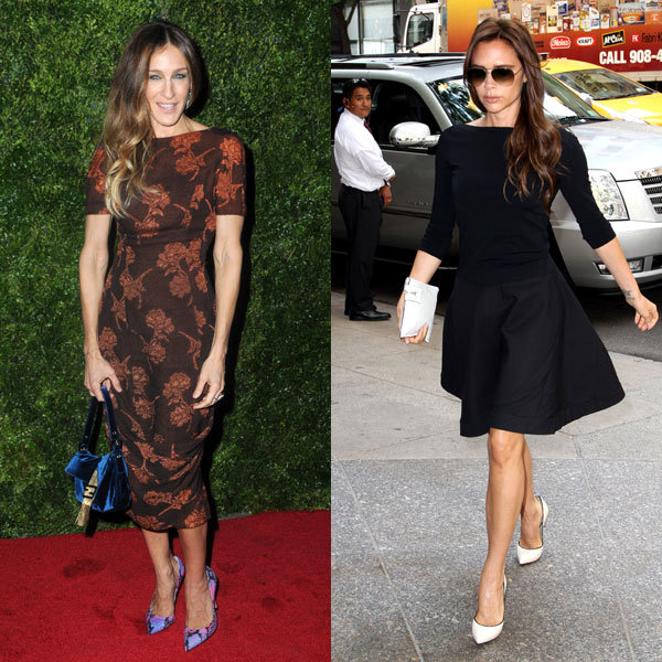 Victoria Beckham vs Sarah Jessica Parker – who wins out on style?
