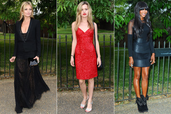 Kate Moss, Sarah Jessica Parker and Georgia May Jagger wow at The Serpentine Summer Party