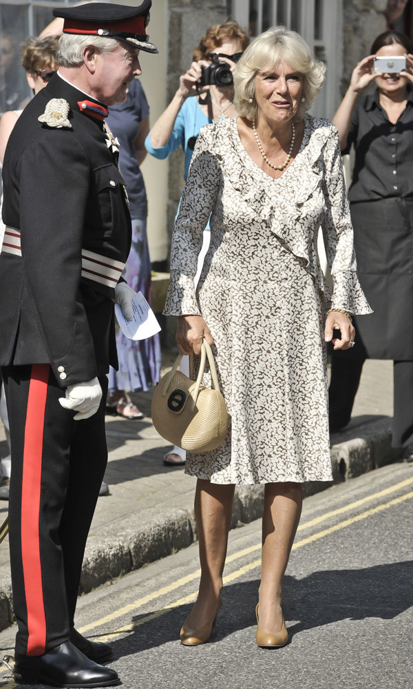 Royal baby latest: Camilla says Prince Charles will make a brilliant grandfather