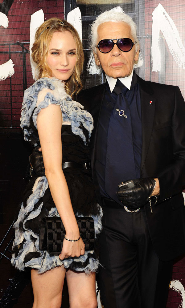 Diane Kruger takes the lead role in Chanel's new beauty campaign…