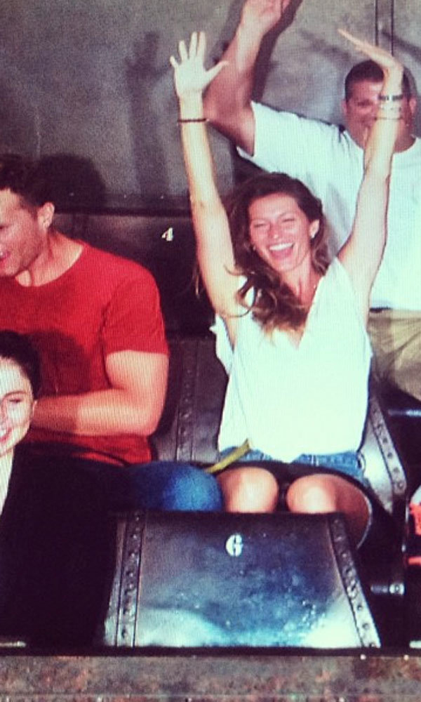 Gisele Bündchen enjoys a cute family day out at Disneyland