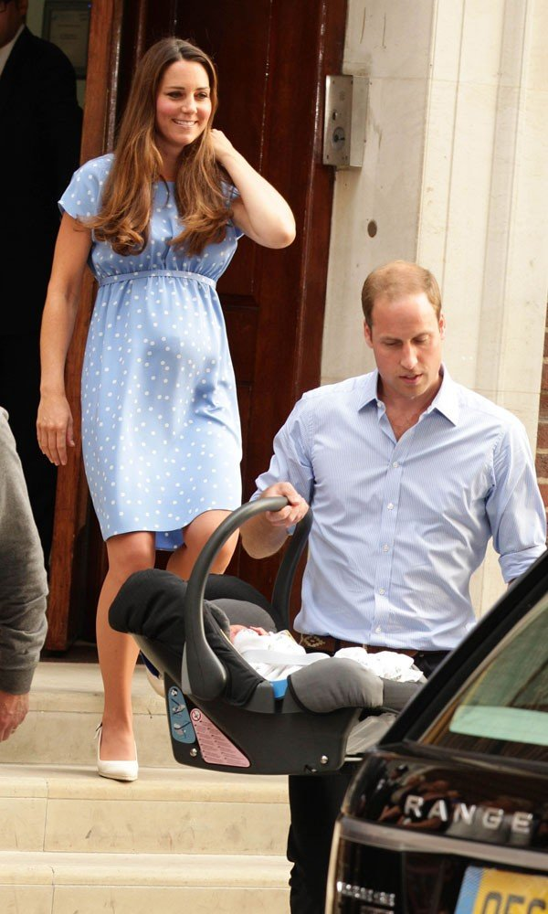Kate Middleton and Prince William name Royal baby Prince George Alexander Louis of Cambridge