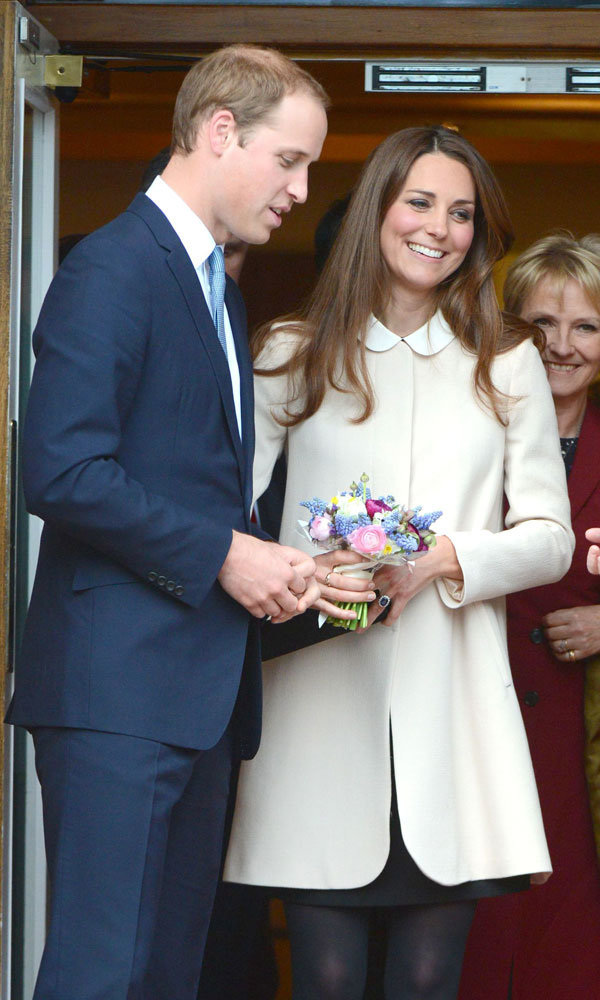 The Duchess of Cornwall reveals Kate Middleton's due date