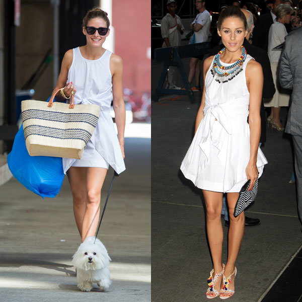 Olivia Palermo gives a chic lesson in day-to-night dressing