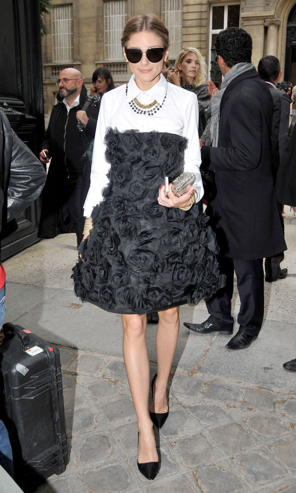 Olivia Palermo is front row fabulous at Paris Haute Couture Week