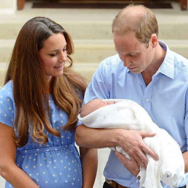 How did Kate Middleton and Prince William choose Royal baby name?