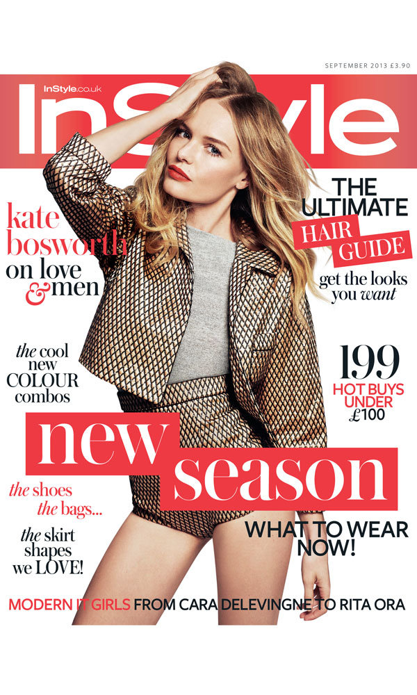 Kate Bosworth is InStyle's September cover girl!