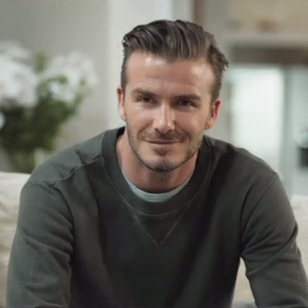 David Beckham multiplies for new TV ad
