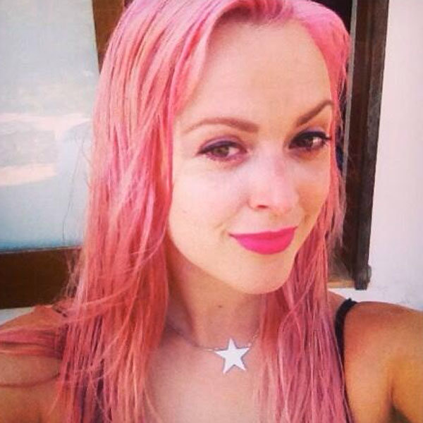 Fearne Cotton reveals new candy-coloured hair