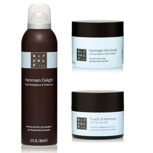 WIN one of six Hammam Ritual body sets with #InStyle vip