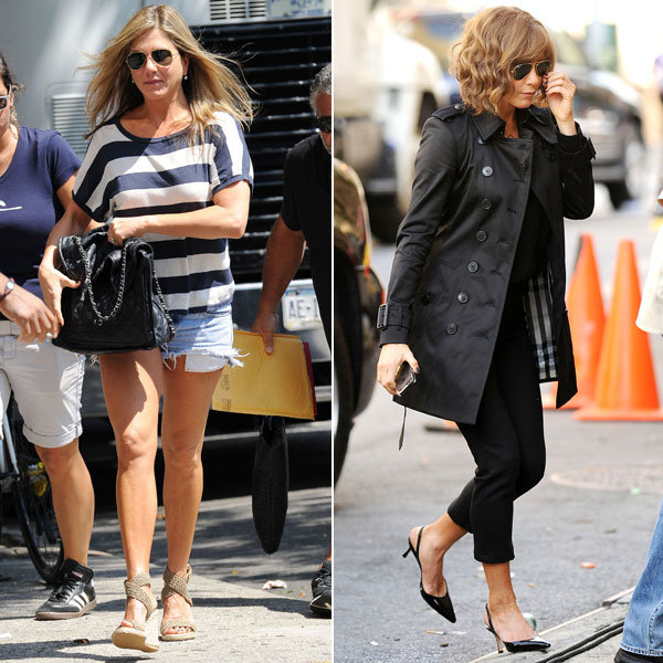 Jennifer Aniston gives a lesson in off-duty chic