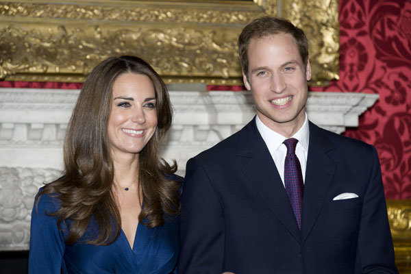 Kate Middleton and Prince William thank staff at Lindo Wing