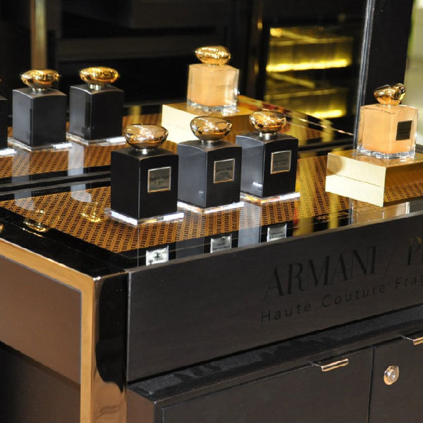 The Beauty Review: Armani Privé's bespoke boutique