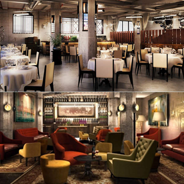 NEW PICTURES: David Beckham and Gordon Ramsay's new restaurant is ready to open