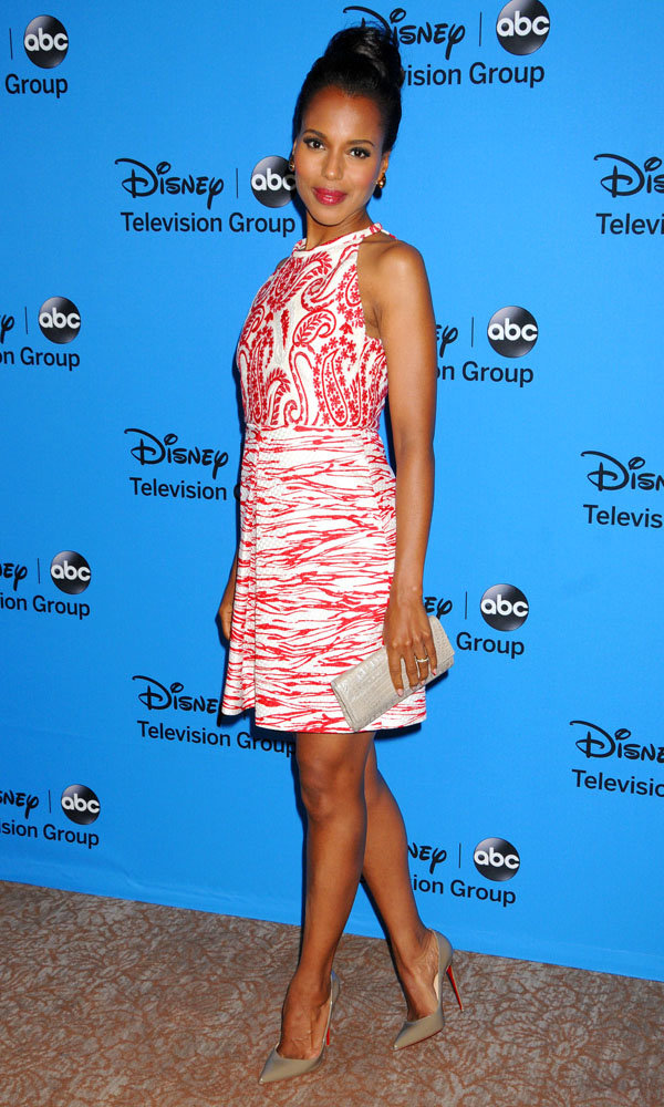 Kerry Washington looks ultra chic in high summer prints