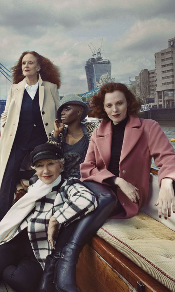Marks and Spencer reveal star-studded new Autumn Winter 2013 campaign