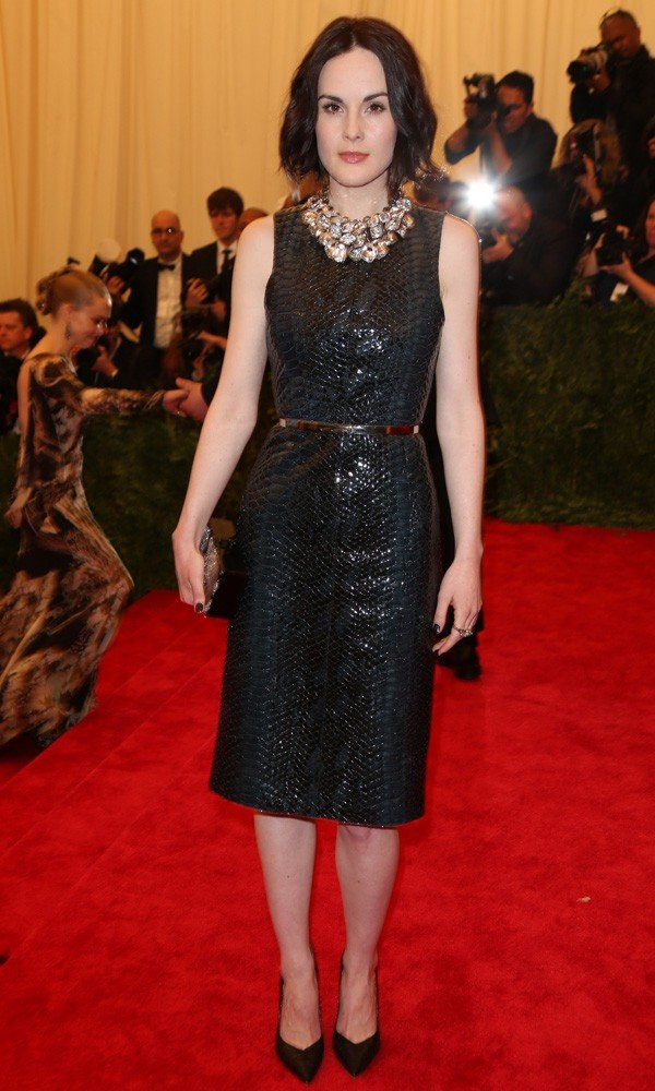 Michelle Dockery reveals all about Downton Abbey series four